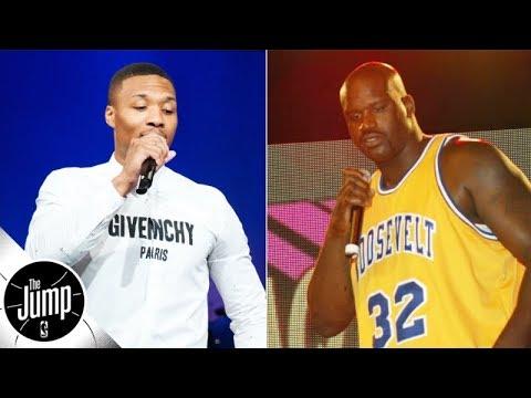 NBA Beef! Damian Lillard & Shaq Release Diss Tracks Against Each Other