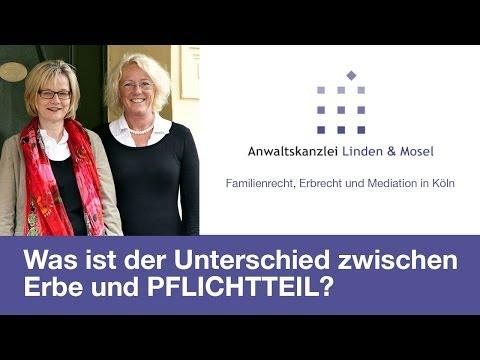 RA Katharina Mosel informiert: Was ist der Unterschied zwischen Erbe und Pflichtteil?