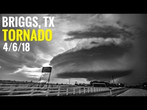 Briggs, TX Tornado - 4/6/18