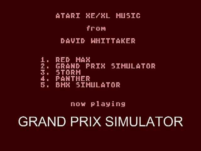 Atari XL/XE music - David Whittaker #1