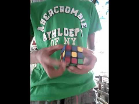 Steven brundage millisecond cube solve trick