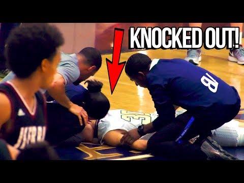 Player KNOCKED OUT COLD Trying To Stop Dennis Rodman Jr! JSerra VS St John Bosco CLOSE FINISH