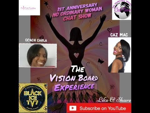 THE VISION BOARD EXPERIENCE, NO ORDINARY WOMEN LINK UP