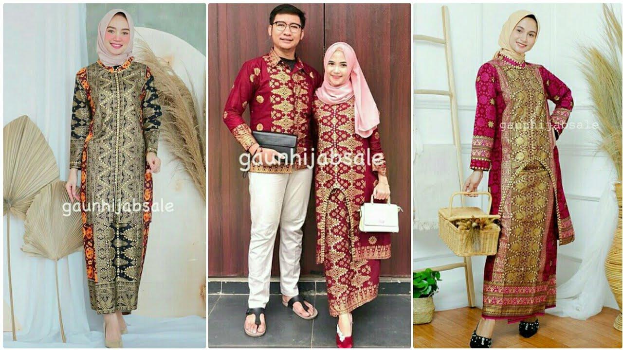 Model Baju Batik Songket Terbaru 11/11 Bisa Untuk Couple