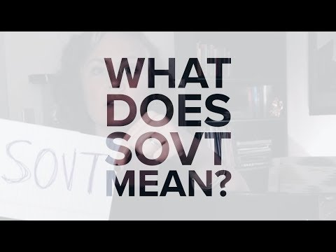 22 seconds of voice: What is SOVT?