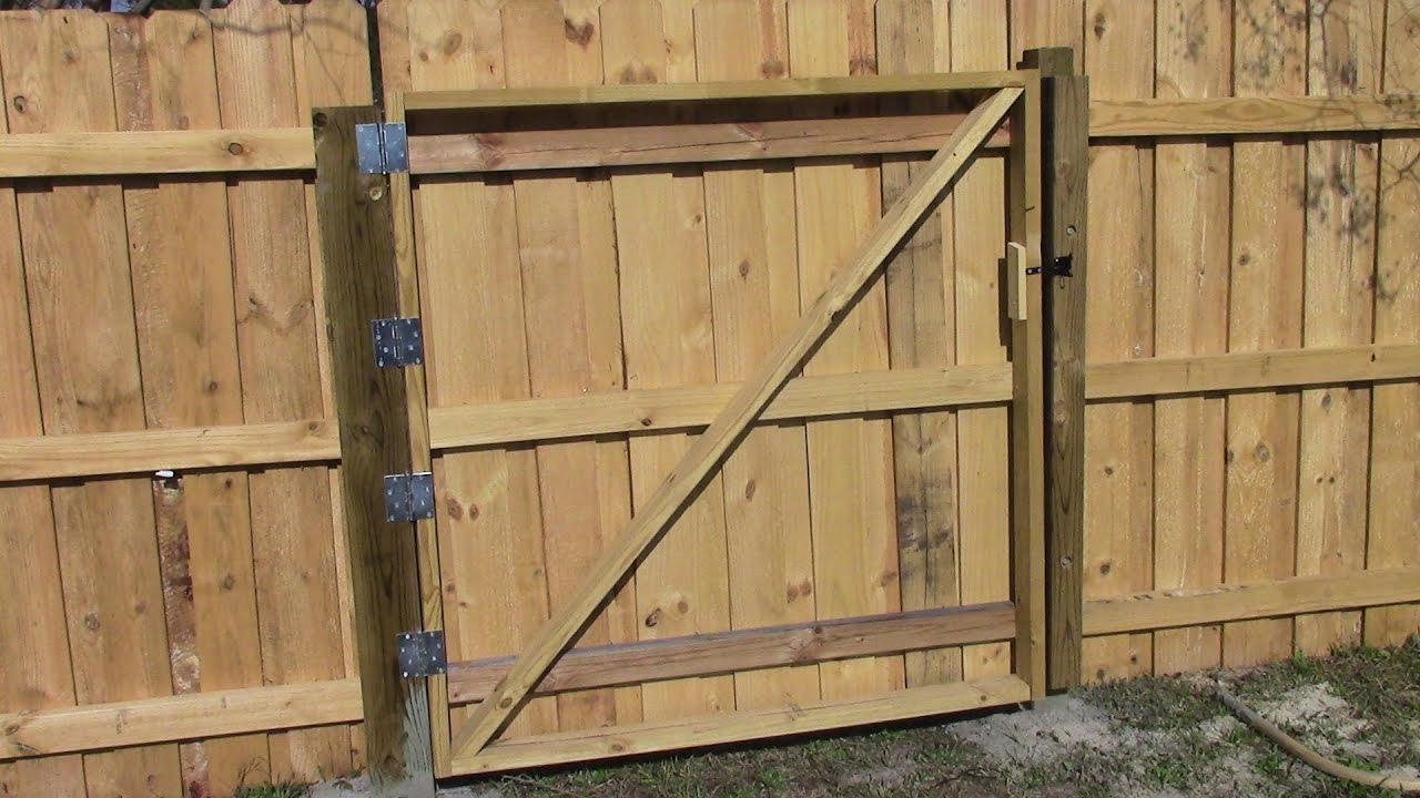 Making A Wooden Gate Mm 97 Youtube