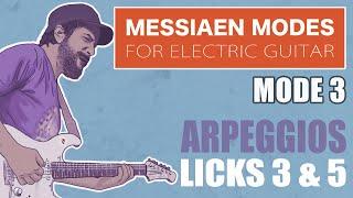 Messiaen Mode 3 - Arpeggios Licks 3 & 5