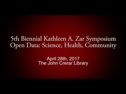 Zar Symposium 2017: Welcome and Keynote, Stephanie Wright