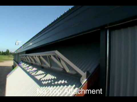 HIGHER POWER Hydraulic Door | No Hinges or Top Attachments & HIGHER POWER Hydraulic Door | No Hinges or Top Attachments - YouTube