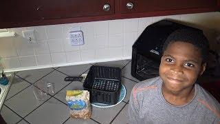 Popcorn Experiment Power Air Fryer Oven (Can it Pop Corn?)
