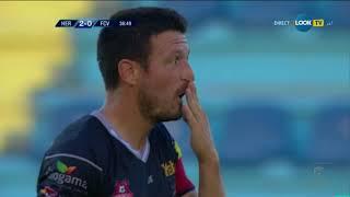 Gol superb Tatar, min 38, din lovitura/ FC Hermannstadt - FC Voluntari 3-0