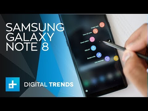 Samsung Galaxy Note 8 – Hands On Full Review