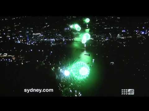 Sydney New Year 2013 Fireworks 9pm