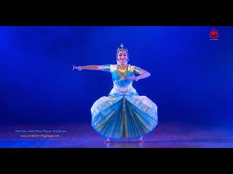 Rama Natakam by Harinie Jeevitha part 3 - Sridevi Nrithyalaya - Bharatanatyam Dance