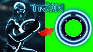 Tron Deadly Discs Effects with SFX - Green Screen Footage Free Download