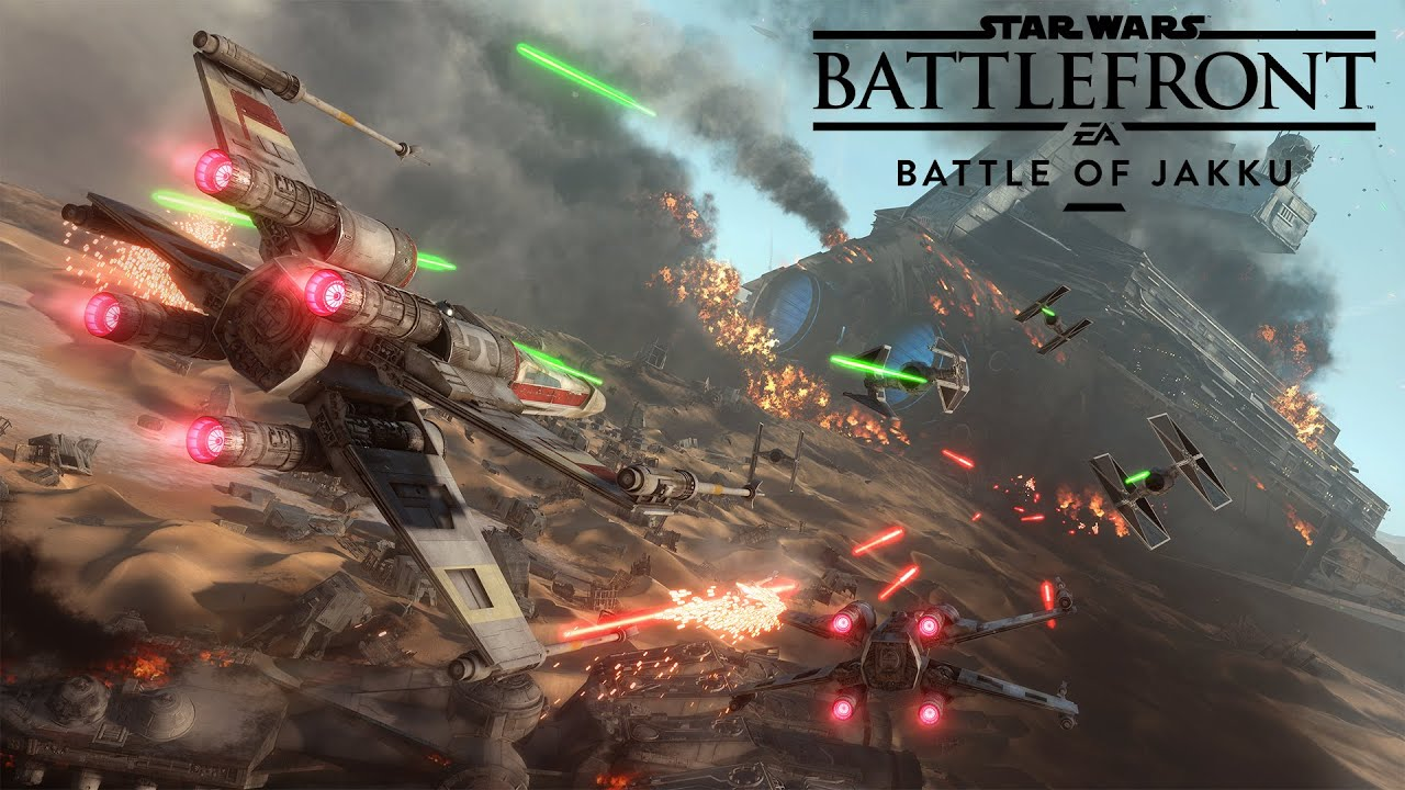 Star Wars Battlefront: Battle of Jakku Gameplay Trailer - YouTube