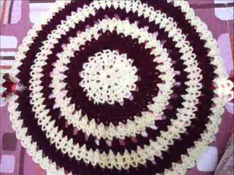 Crochet Doilycrochet Round Table Cloth Youtube