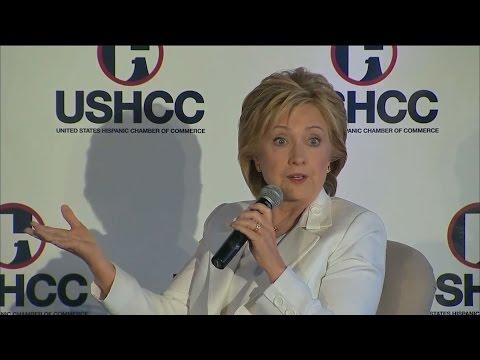 Hillary Clinton Talks About Julian Castro as Running Mate