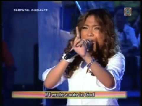 CHARICE singing 'A Note To God' @ Wowowee (10/17/2009)