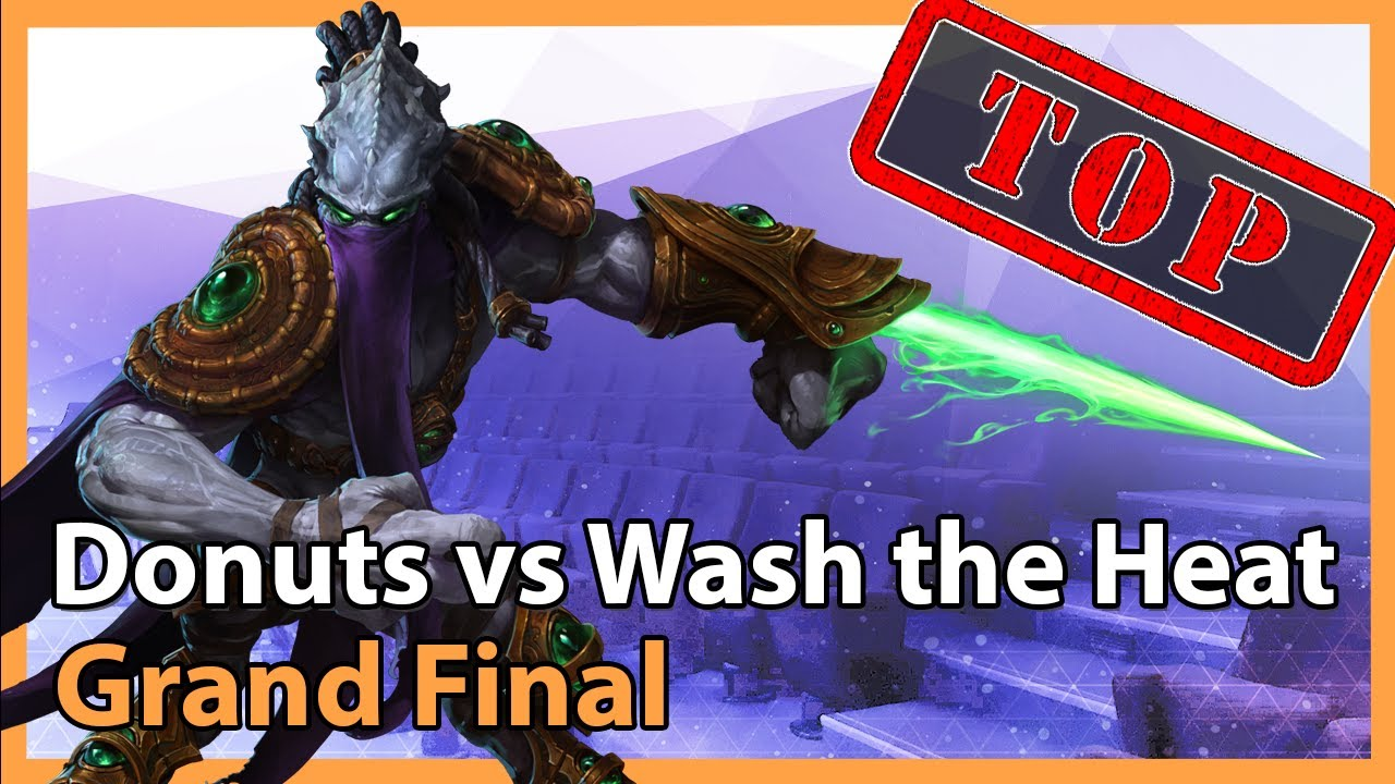 Grand Final: Donuts vs. Wash the Heat - Heroes of the Storm 2021