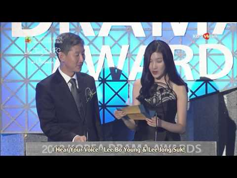 [Vietsub] Korea Drama Awards 2013 - Best Couple Lee Bo Young - Lee Jong Suk