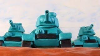 Пластилиновый мультик про танки | World of Tanks