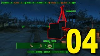 Fallout 4 - Part 4 - Building a Base (Let