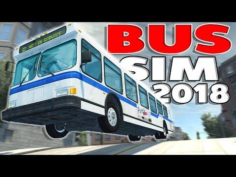 BEST BUS SIMULATOR 2018! - BeamNG Drive