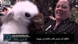 مصر العربية | انطلاق اكبر معرض العاب بالعالم في نيويورك