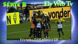 Criciuma 1 x 0 Atletico GO   Brasileirão Série B 2015 30/05/2015