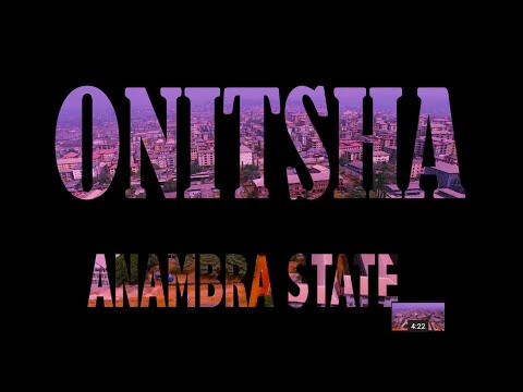 Onitsha Anambra State Nigeria DJI 4K Drone Video