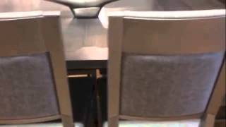 Zoom Extension Dining Table & Payton Dining Chairs By Amisco