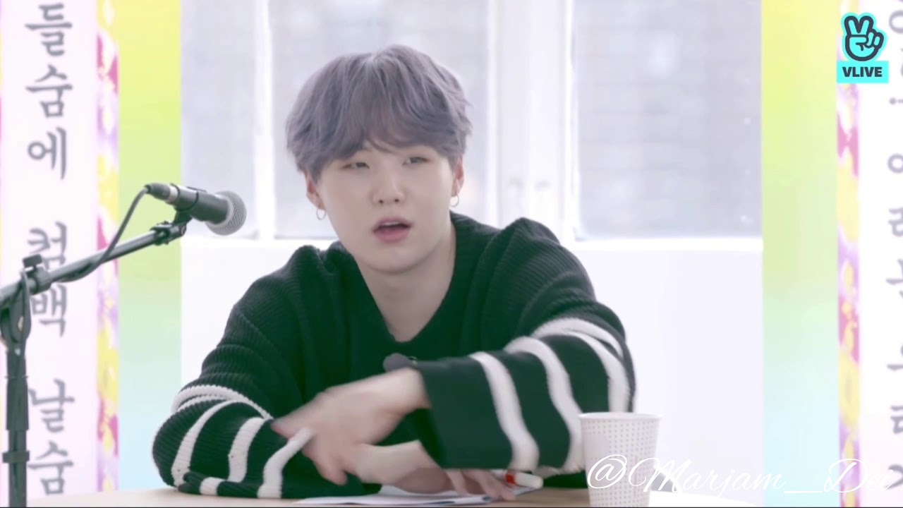 Suga S Boy With Luv Live Rap Part Cut From Bts 꿀fm 06 13