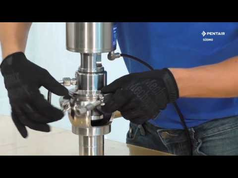 Pentair Südmo Single Seat Valve SVP Select - Maintenance video