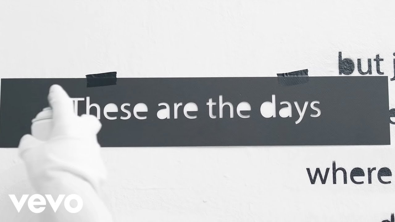 Avicii The Days Lyric Video