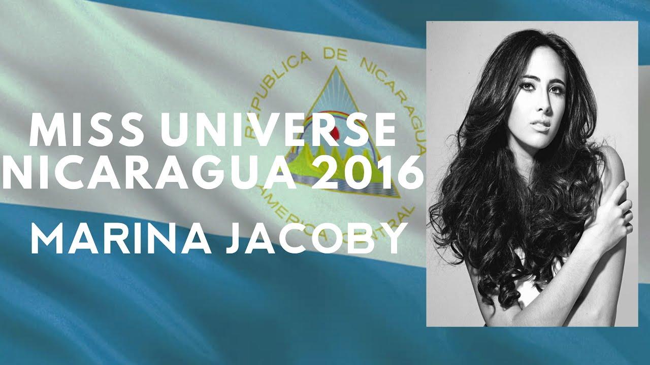 Marina Jacoby Wins Miss Nicaragua 2016: Miss Universe Nicaragua 2016 (Marina Jacoby)