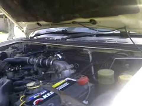 Blow Off Valve (BOV) on Isuzu D-MAX 3.0 Turbo Diesel