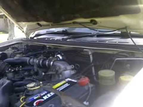 Blow Off Valve Bov On Isuzu D Max 3 0 Turbo Diesel Youtube