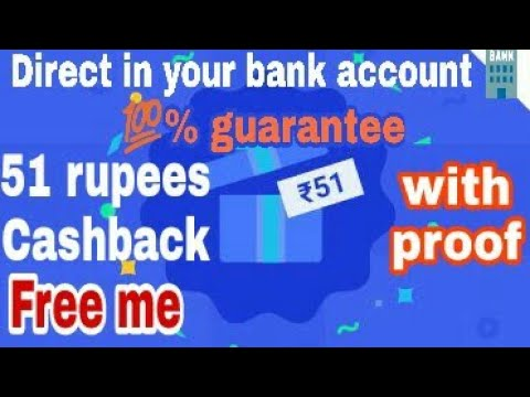 Rs.50 direct in ur bank cashback with proof. How to use Google tez.