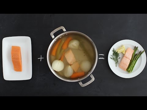 The Technique Behind Perfectly Poached Salmon - Kitchen Conundrums With Thomas Joseph