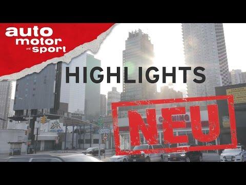 New York International Autoshow - Neuvorstellung   Test   Review   auto motor und sport
