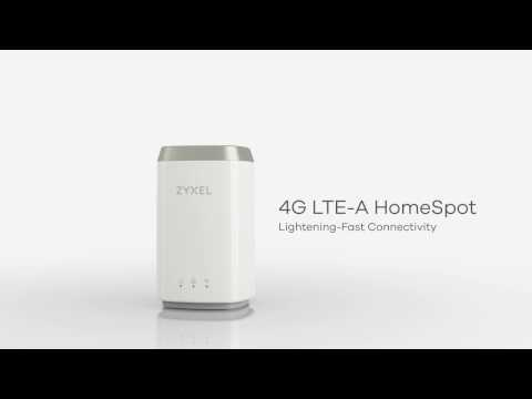 Zyxel LTE4506 - 4G LTE-A HomeSpot Router, 2017