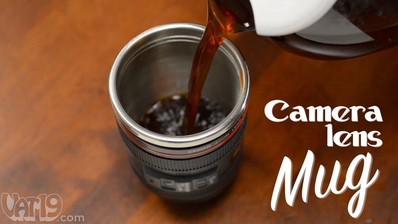 Camera Lens Mug Youtube