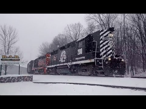 25 Trains in Ohio - March 2016 to February 2017