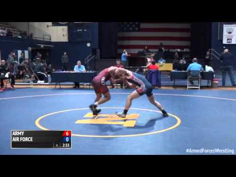 59 kg - Jermaine Hodge (Army) vs. Randy Duncan (Air Force)