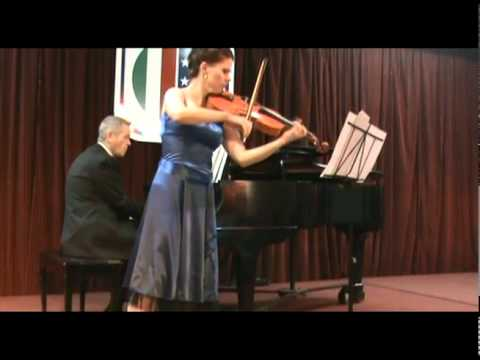 MADALINA NICOLESCU - VIOLA, performing Bruch, Romance 0p.85 with pianist Timothy G. Ruff Welch