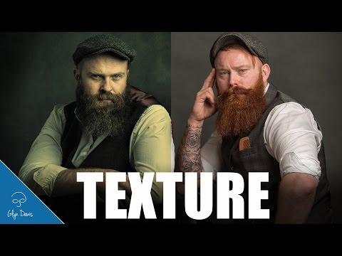 Quick and Easy Backgrounds with Textures: PHOTOSHOP #92