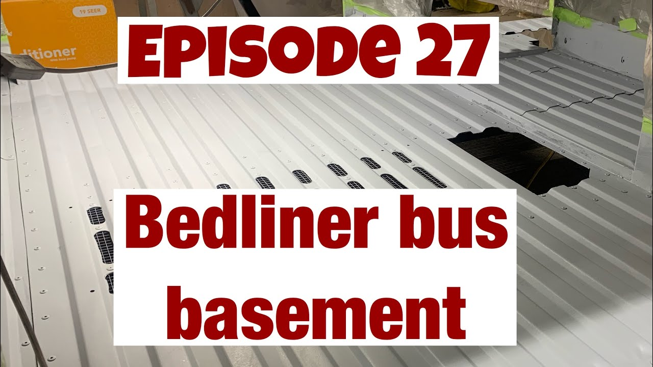 E27 Bus Basement Bedliner
