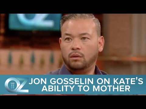 Jon Gosselin Shares With Dr. Oz His Thought On Kate's Ability To Mother And Her Intentions