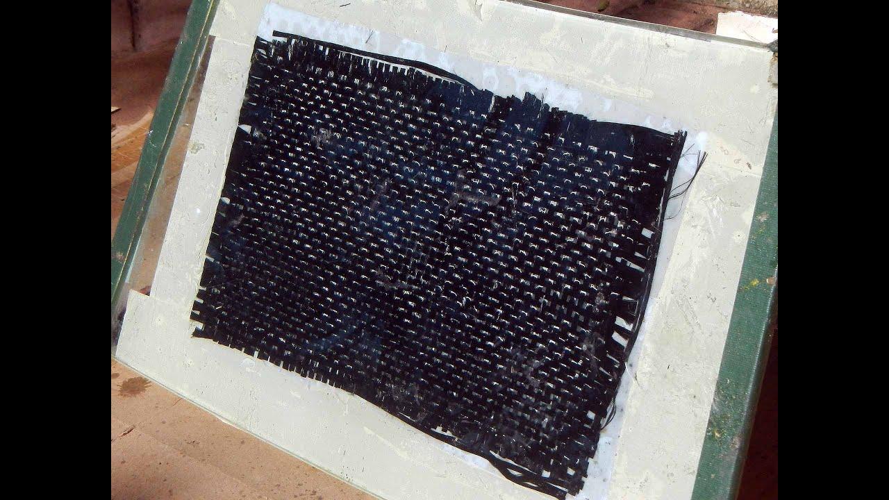 Carbon Fiber Honeycomb Sandwich Panel Layup, Vacuum Bag, Mold Release,  Strength Test